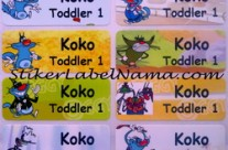 Label Nama Oggy
