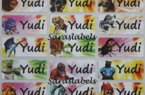 Stiker Label Nama Animal Kaiser