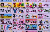 Jual Label Nama Baby Disney