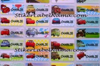 Jual Label Nama Cars