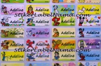 Jual Label Nama Disney