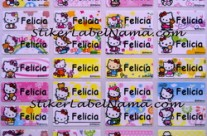 Jual Label Nama Hello Kitty