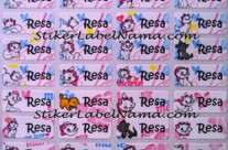 Jual Label Nama Marie Cat