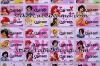 Jual Label Nama Princess