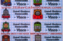 Jual Stiker Label Nama Thomas