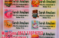 Stiker Label Nama Shopkins