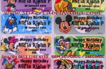 Jual Label Nama Waterproof Mickey Mouse