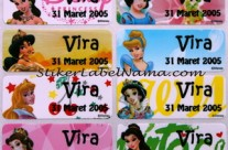 Label Nama Princess
