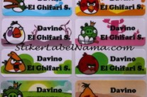 Label Nama Angry Bird