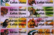 Label Nama Animal Kaiser