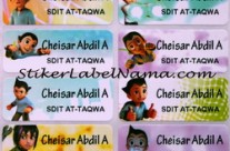 Label Nama Astroboy