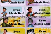 Label Nama Astro Boy