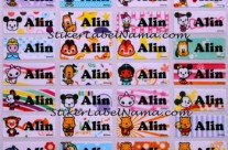 Label Nama Baby Disney