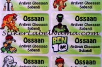 Label Nama Ben 10