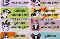 Label Nama Cat