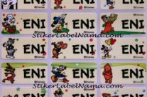 Label Nama Disney