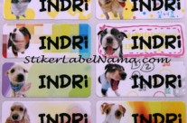Label Nama Dog