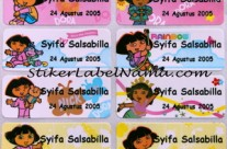 Label Nama Dora