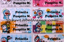 Label Nama Doraemon