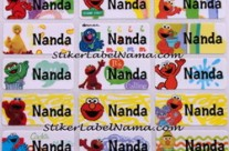 Label Nama Elmo