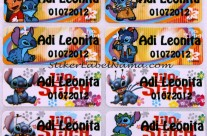 Label Nama Lilo n Stich