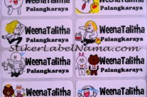 Label Nama Line