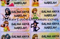 Stiker Nama Love n Berry