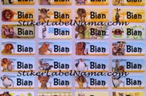 Label Nama Madagascar