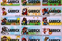 Label Nama Mario Bross