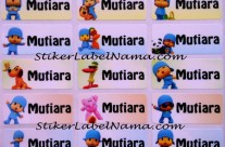 Label Nama Pocoyo