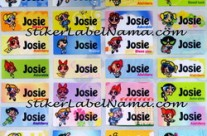 Label Nama Powerpuff Girl