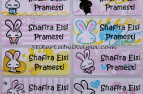 Label Nama Rabbit