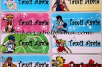 Label Nama Sailormoon