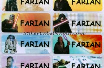 Label Nama Starwars