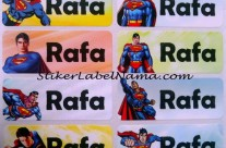 Label Nama Superman