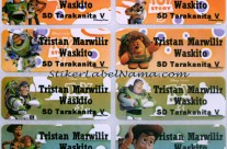 Label Nama Toy Story