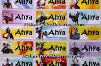 Label Nama Ultramen
