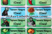 Label Nama Zombie