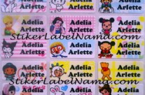 Label Nama Mix Girl