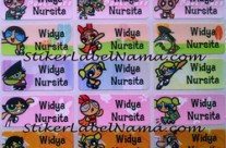 Label Nama Power Puff Girl