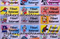 Stiker Nama Super Hero