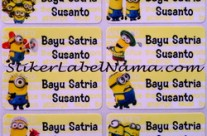 Jual Label Nama Despicable Me